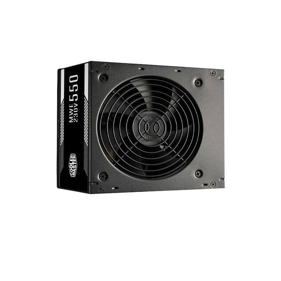 image منبع تغذیه کامپیوتر کولر مستر مدل POWER Cooler Master MWE 550 White POWER Cooler Master MWE 550 White
