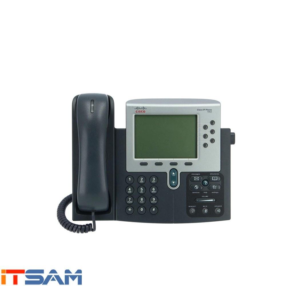 تصویر تلفن تحت شبکه سیسکو Cisco CP-7962G