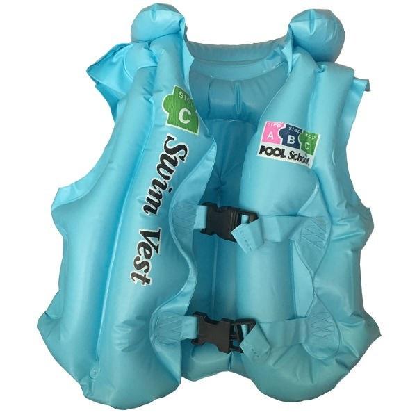 تصویر جلیقه بادی شنا سوییم وست مدل step c سایز L Swimming vest