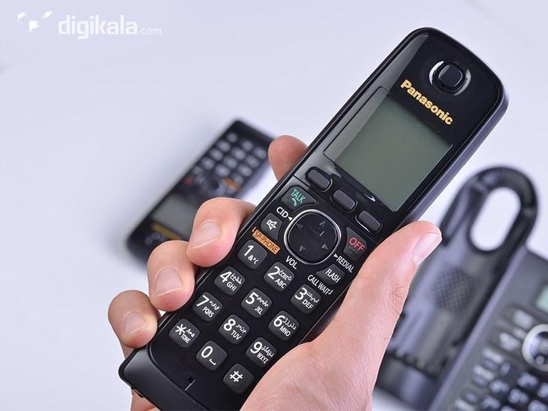 تصویر تلفن بی سیم پاناسونیک KX-TG3822JX ا Panasonic KX-TG3822JX Panasonic KX-TG3822JX