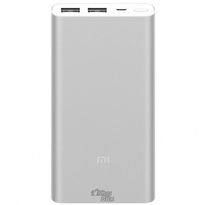 تصویر شارژر همراه دو پورت شیاومی مدل Mi Power Bank 2 با ظرفیت 10000 میلی آمپر ساعت Xiaomi Mi Power Bank 2 10000mAh Two port Power Bank