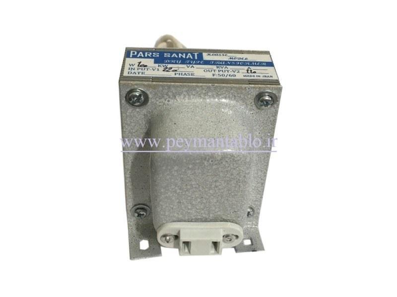 تصویر ترانس کاهنده ولتاژ 220 به 110 ولت 100 ولت آمپر (اتو ترانس)