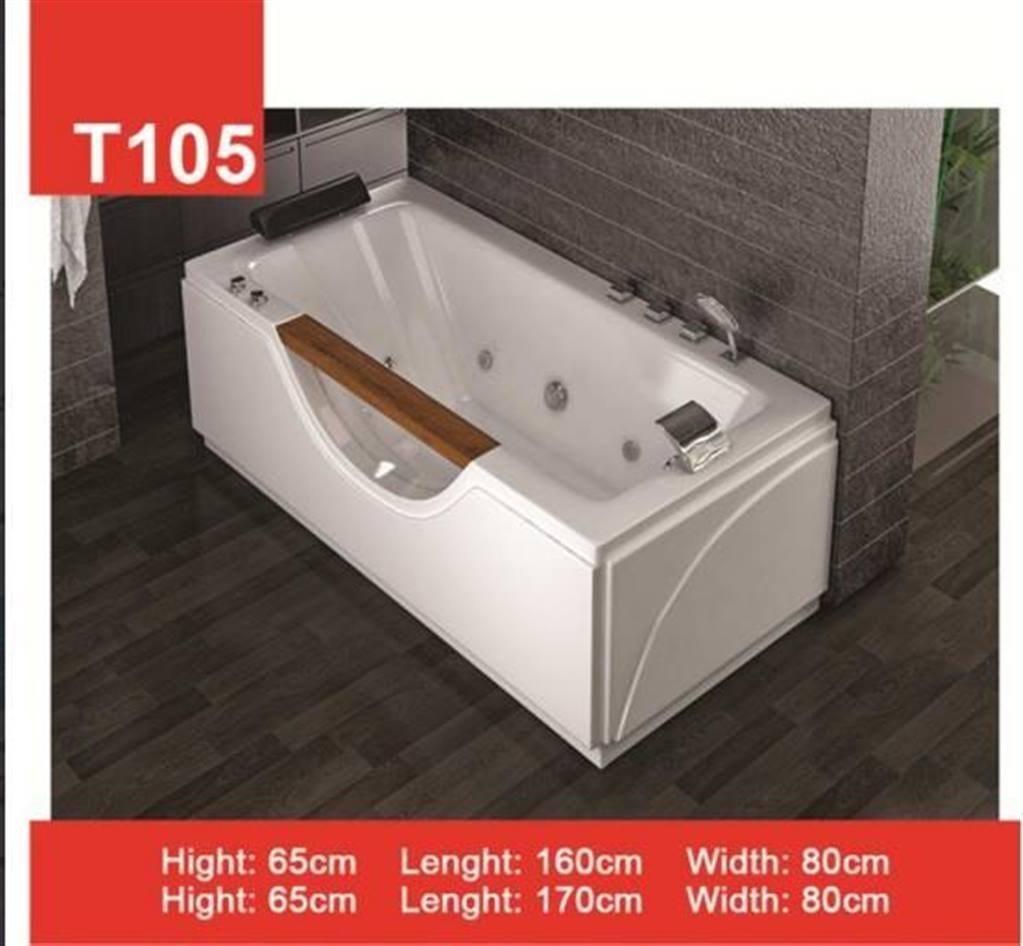 وان و جکوزی حمام Tenser مدل T105