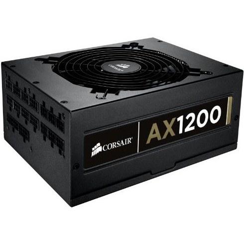 main images پاور کورسیر مدل ای ایکس 1200 پاور کورسیر AX1200 ATX/EPS Fully Modular 80PLUS Gold Power Supply
