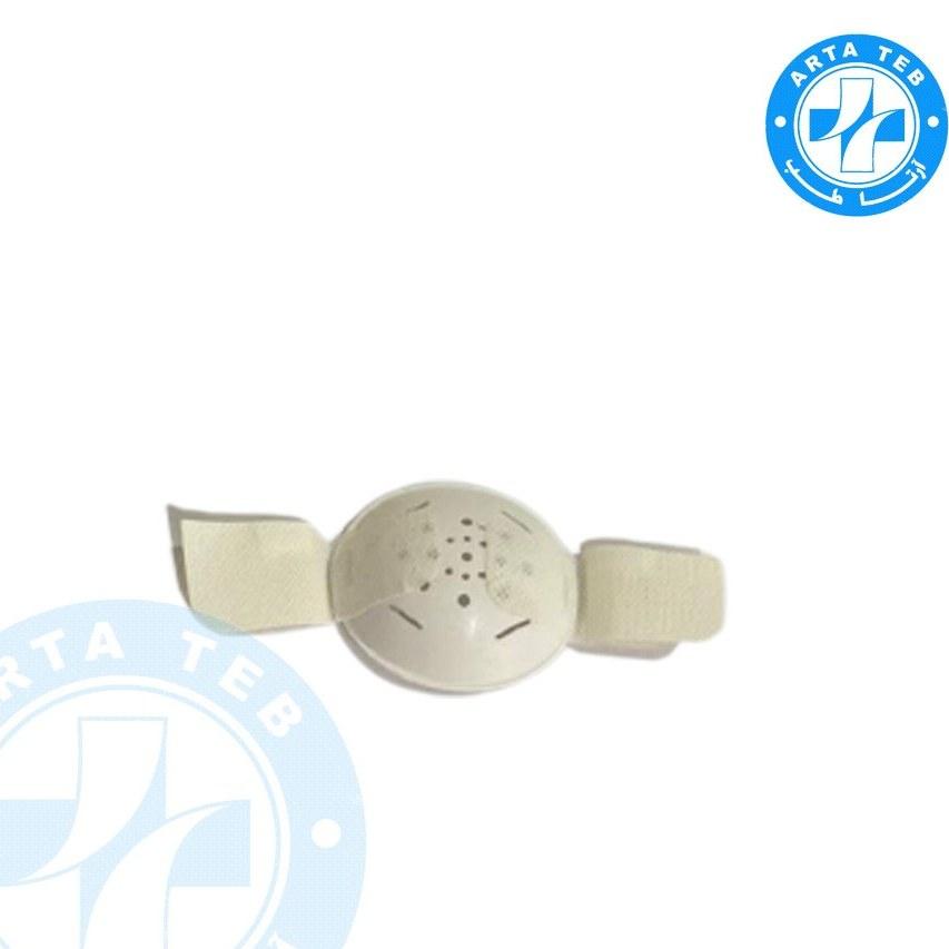 تصویر شیلد چشمی پلاستیکی چسبدار مات ا Adhesive plastic eye shield Adhesive plastic eye shield