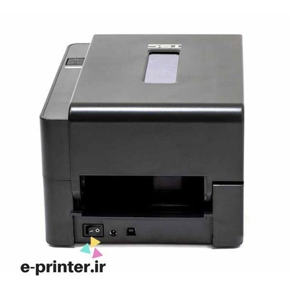 تصویر پرینتر لیبل زن تی اس سی مدل TE200 مشکی TSC TE200 Label Printer