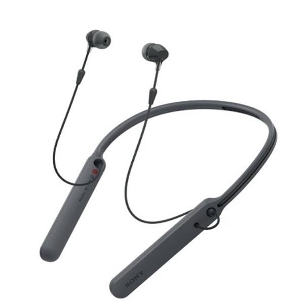 عکس هدفون بیسیم سونی مدل WI-C400 رنگ مشکی Sony WI-C400 Wireless in-Ear Headphones with up to 30 Hours Battery Life - Black هدفون-بیسیم-سونی-مدل-wi-c400-رنگ-مشکی
