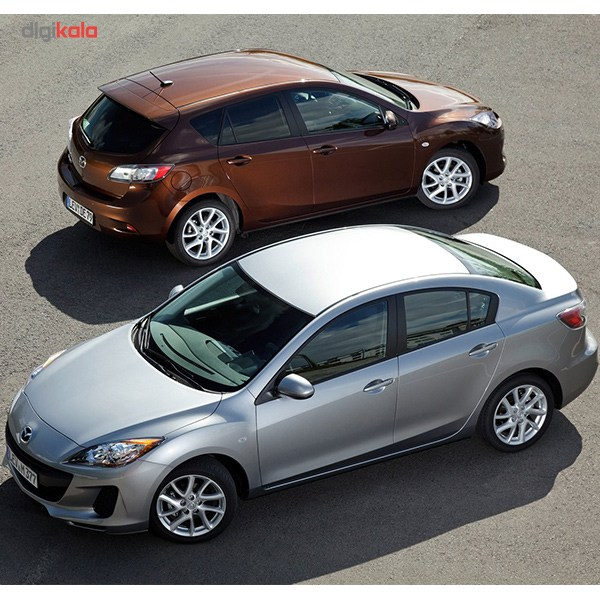 img خودرو مزدا 3 تیپ 4 فول آپشن اتوماتیک سال 1397 Mazda 3 Second Gen Full 1397 AT