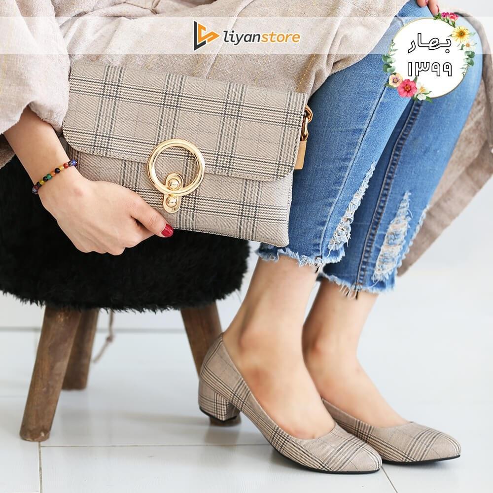 ست کیف و کفش زنانه مدل s01 _ burberry