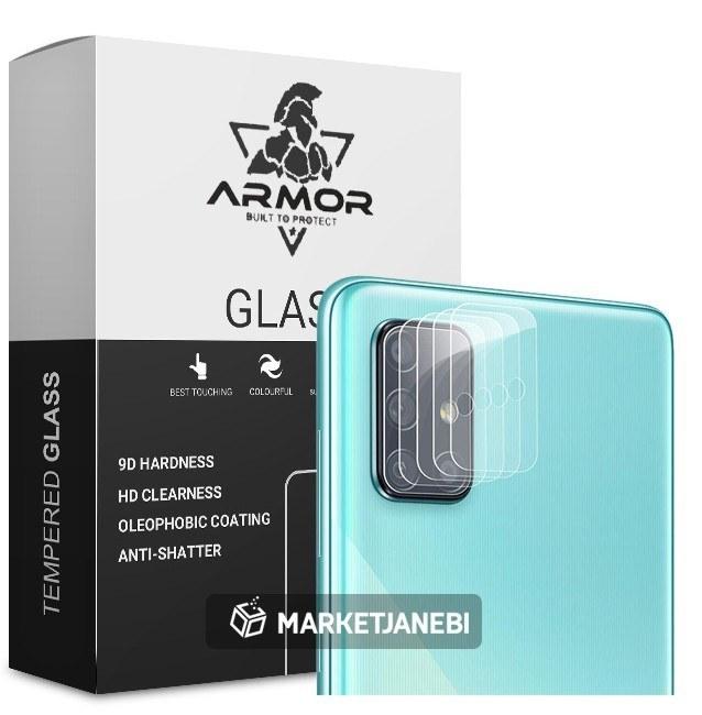 گلس لنز Samsung Galaxy A51 محافظ کامل لنز دوربین گوشی