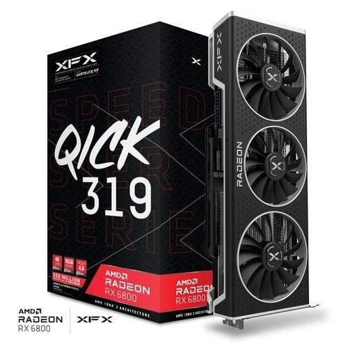تصویر کارت گرافیک QICK 319 AMD Radeon™ RX 6800 16G