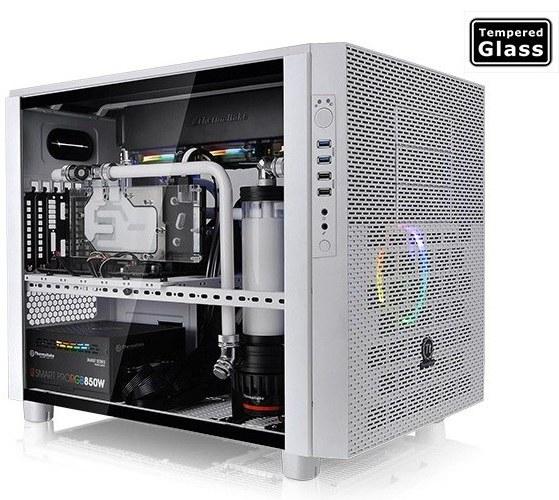 عکس کیس ترمالتیک مدل Core X۵ Tempered Glass Snow Edition Thermaltake Core X5 Tempered Glass Snow Edition Cube Case کیس-ترمالتیک-مدل-core-x5-tempered-glass-snow-edition