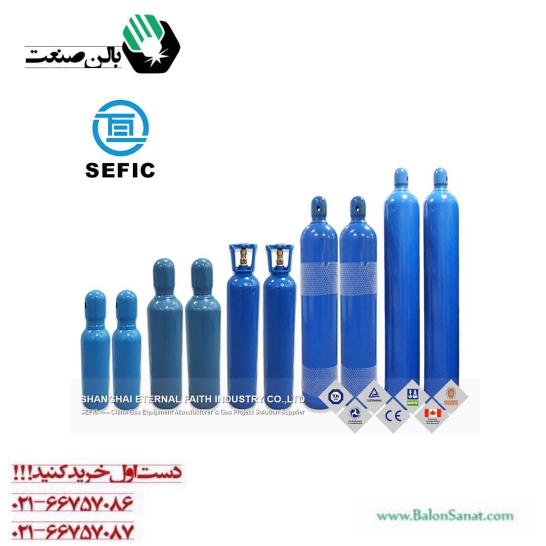 تصویر کپسول اکسیژن 50 لیتری چینی
