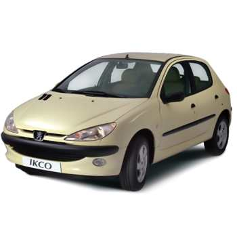 خودرو پژو 206 تیپ 6 اتوماتیک سال 1395   Peugeot 206 Trim 6 1395 AT