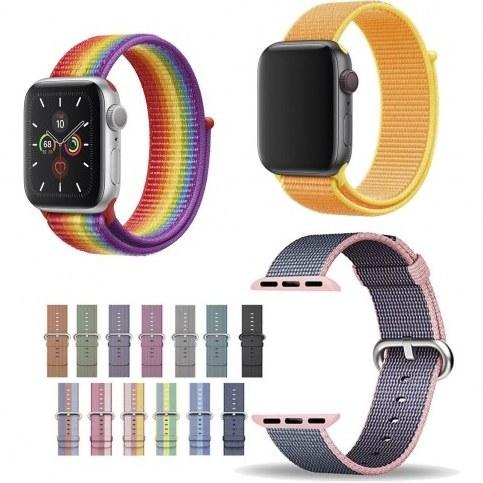 تصویر بند اسپورت اپل واچ ۳۸/۴۰ میلی متری مدل نایلون لوپ Apple Watch ۳۸/۴۰ mm Sport Loop Nylon Band