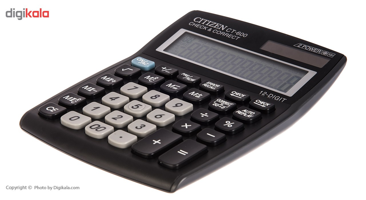 img ماشین حساب مدل CT-600J سیتیزن CT-600J Citizen Calculator