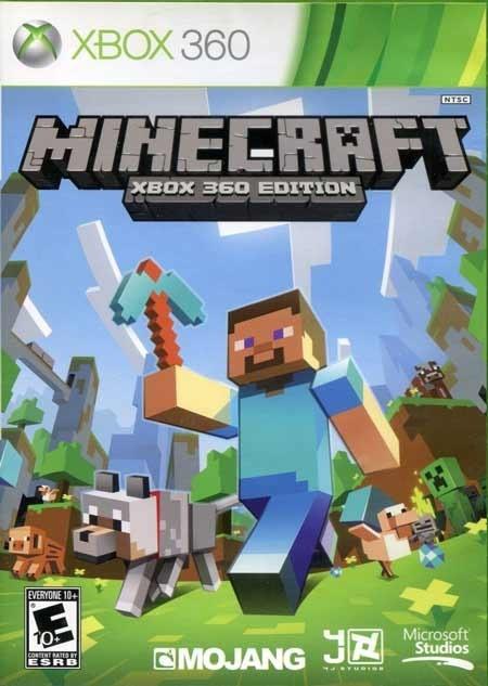 تصویر خرید بازی ماینکرفت Minecraft برای XBOX 360