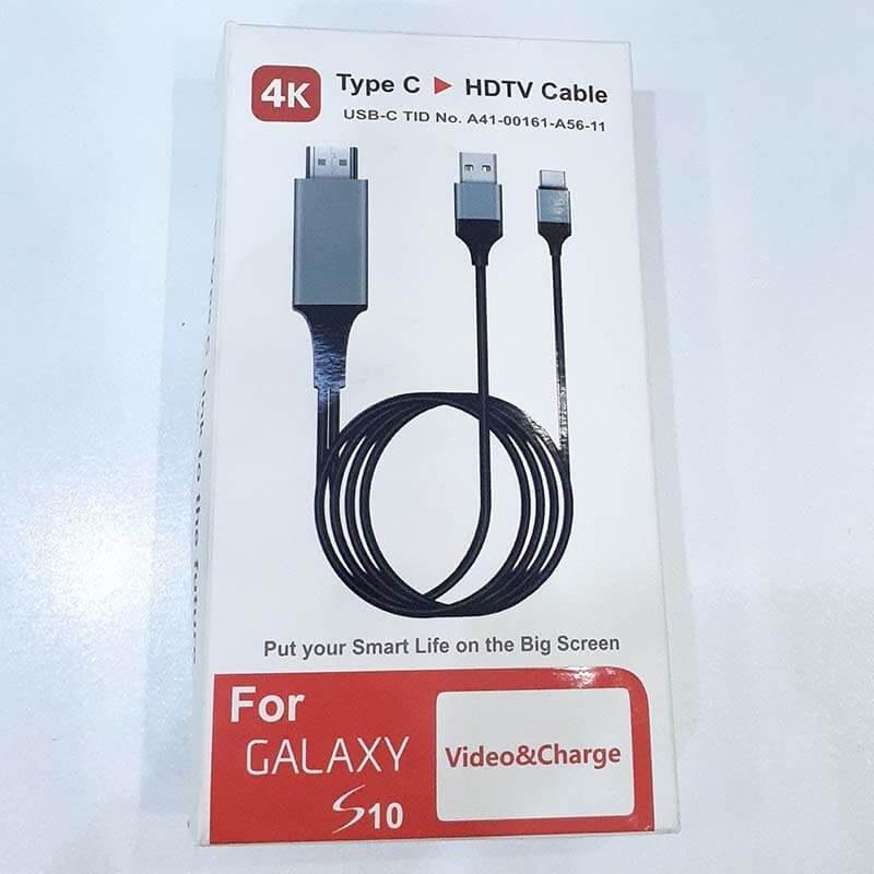 تصویر خرید و قیمت تبدیل type c به hdmi سامسونگ HDTV CABLE - علی پخش