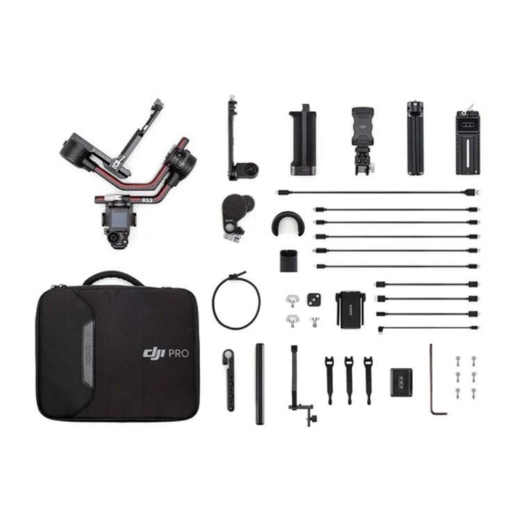 تصویر گیمبال دوربین دی جی آی DJI RS 2 Gimbal Stabilizer Pro Combo