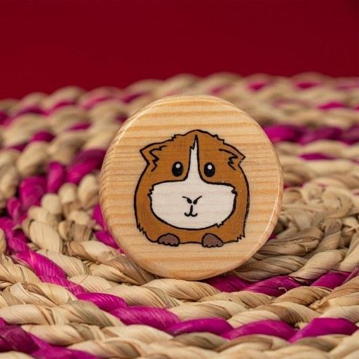 پیکسل چوبی دست ساز همستر