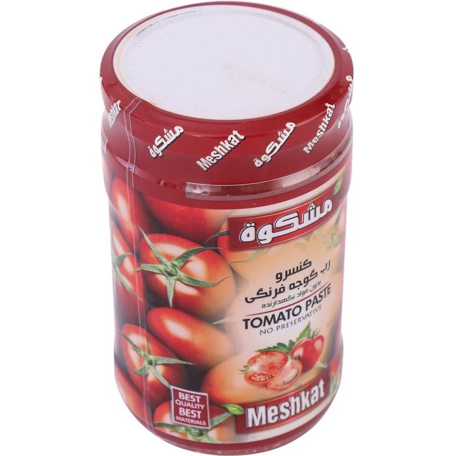 تصویر رب گوجه فرنگی مشکات Meshkat شیشه ای کوچک