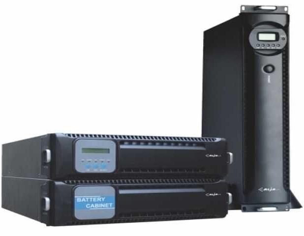 یو پی اس مدل KR-RM ۱۱۱۰L آنلاین ۱۰ کیلو ولت آمپر به همراه باتری | MIT KR-RM 1110L OnLine 10KVA UPS With Battery