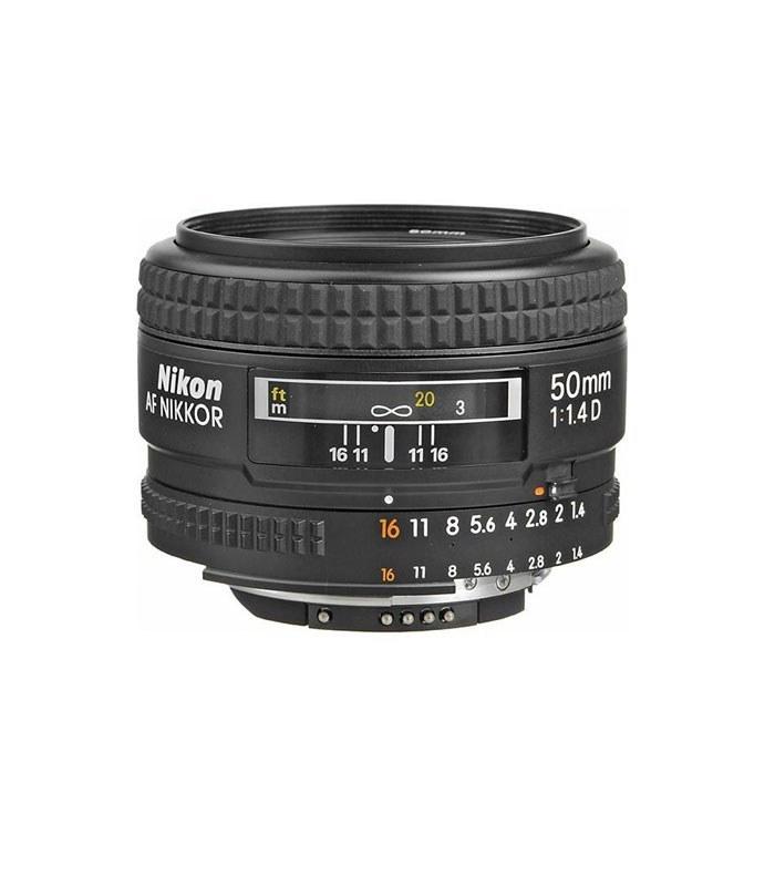 تصویر لنز دوربین نیکون مدل AF-S 50mm f/1.4 G Nikon AF-S NIKKOR 50mm f/1.4 G Lens