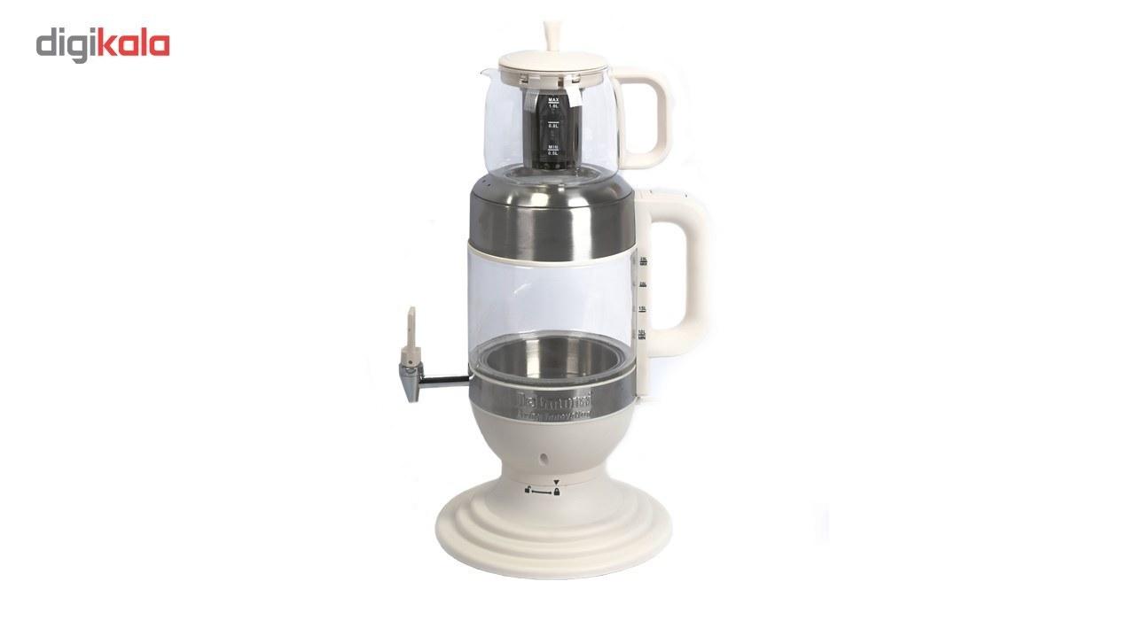 تصویر چای ساز دلمونتی 1850 وات Delmonti DL445 Tea Maker Delmonti DL445 Tea Maker 1850w