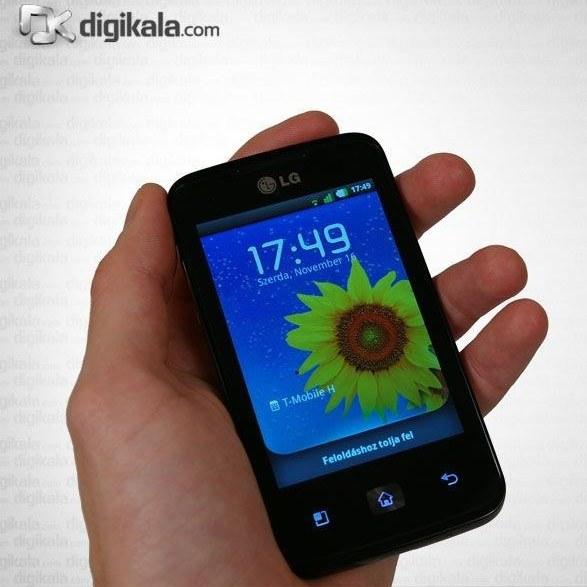 تصویر گوشی موبایل ال جی اپتیموس هاب (ای 510)