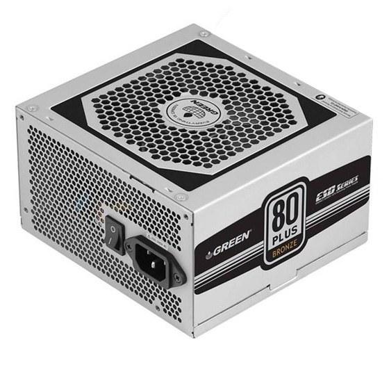 تصویر منبع تغذیه کامپیوتر گرین مدل GP330A-ESD Green GP330A-ESD 80Plus Power Supply