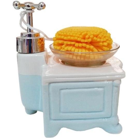 تصویر پمپ مایع ظرفشویی مدل کابینتی