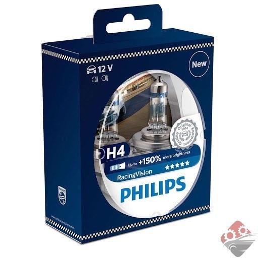 تصویر لامپ خودرو h4 فیلیپس