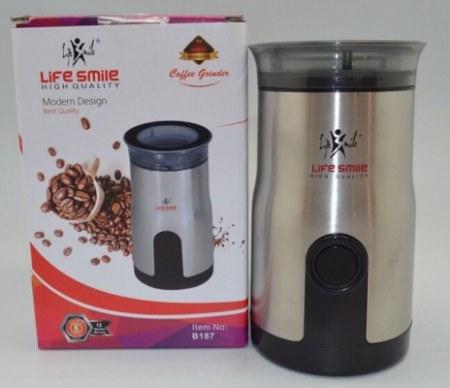 آسیاب قهوه 180 واتی لایف اسمایل LIFE SMILE Coffee Grinder B187
