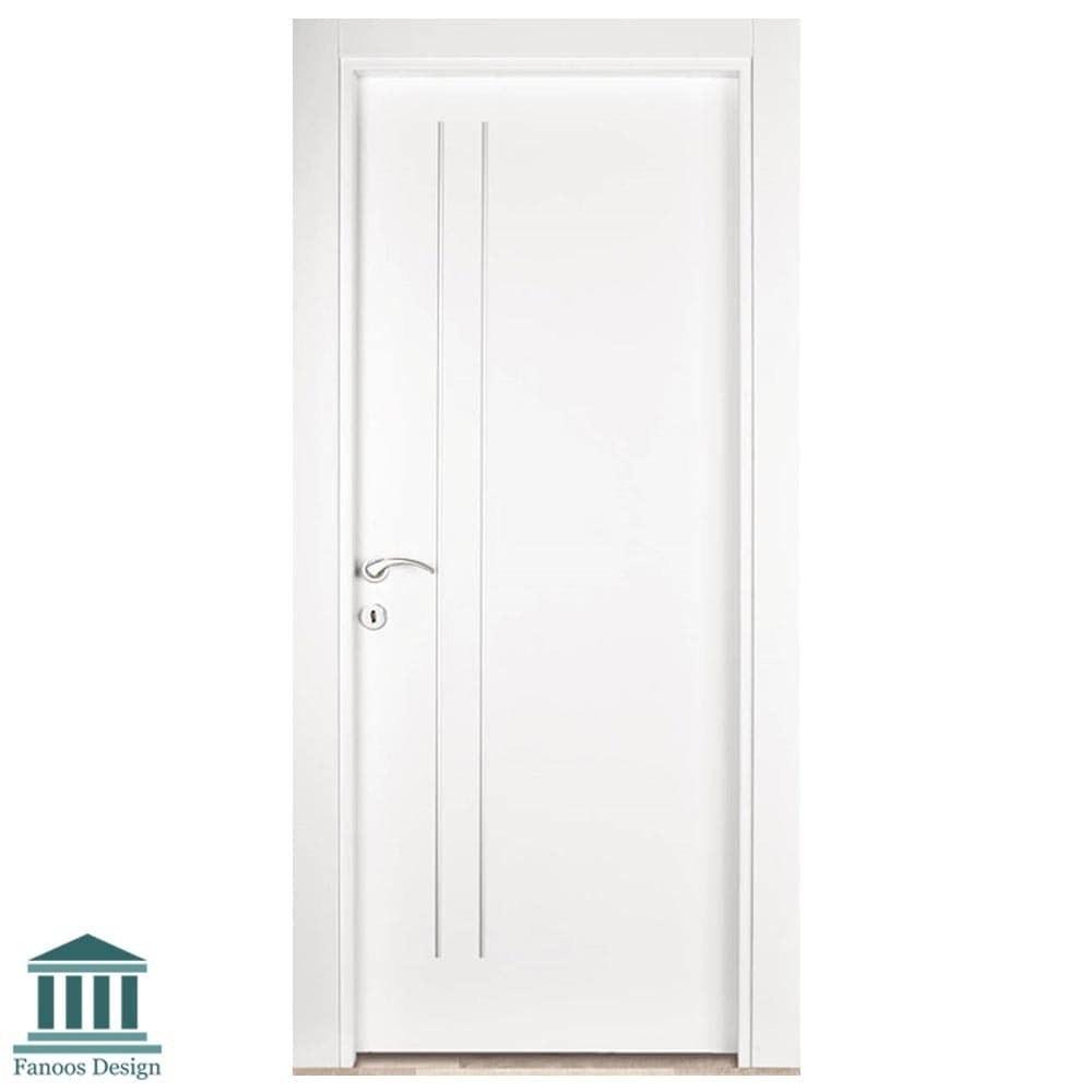 تصویر درب داخلی اتاق MDF اتاقی با رنگ پلی اورتان کد 929