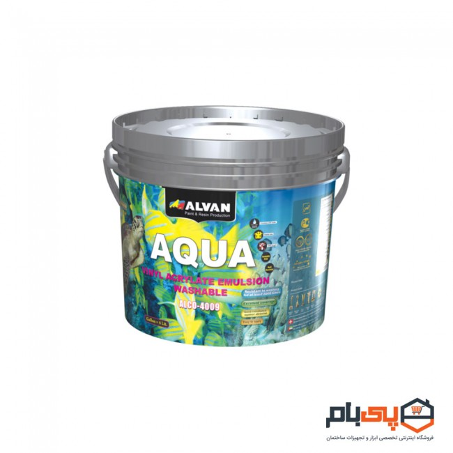 عکس پوش رنگ تمام پلاستیک مات الوان مدل ALCO-4009 حجم گالن  پوش-رنگ-تمام-پلاستیک-مات-الوان-مدل-alco-4009-حجم-گالن