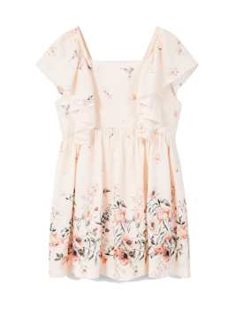 پیراهن ویسکوز کوتاه دخترانه | Girls Viscose Mini Dress