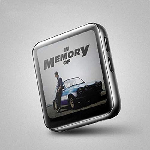 تصویر coromose K1 Bluetooth MP3 Player با صفحه نمایش لمسی 1.54 اینچی MP3 پخش کننده موسیقی صوتی پخش کننده رادیو FM قابل حمل برای اجرای نقره