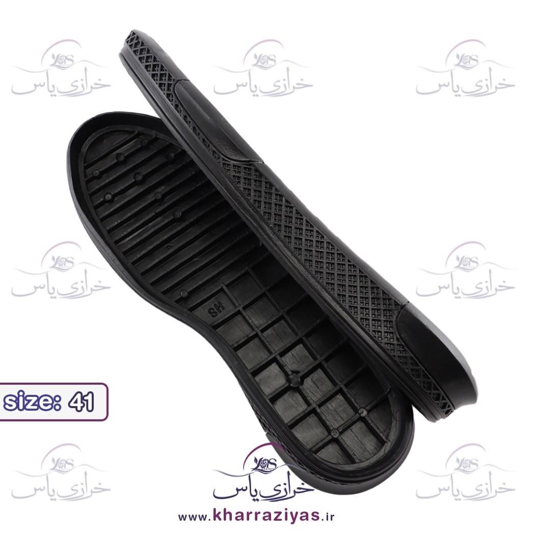 تصویر زیره کفش کارن مشکی مردانه سایز 41