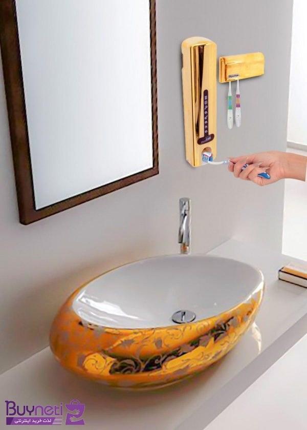 دستگاه خمیردندان اتوماتیک اسپادانا همراه با جامسواکی | Spadana automatic sponge toothpaste