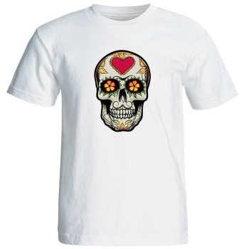تی شرت زنانه طرح اسکلت کد 17311  