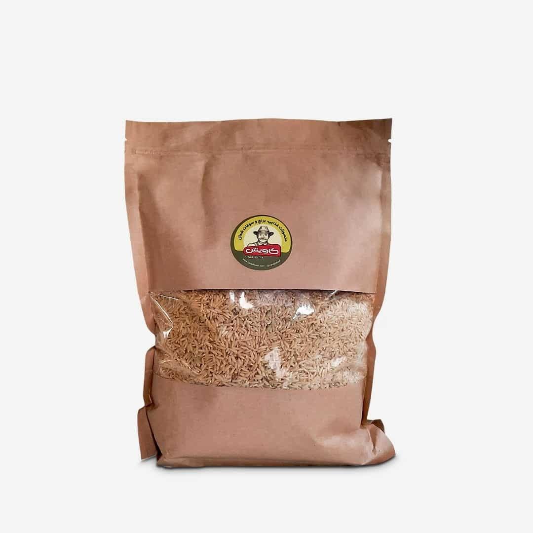 تصویر برنج قهوه ای (2 کیلویی ) کاویش