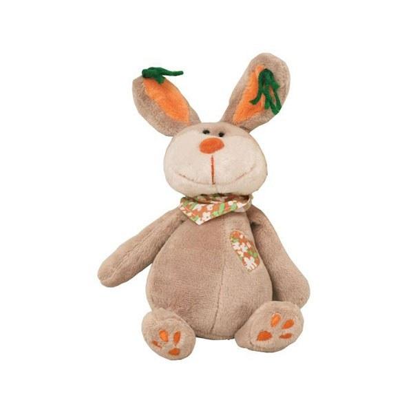 عروسک پولیشی خرگوش دستمال به گردن متوسط