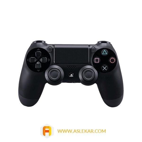 تصویر دسته پلی استیشن 4 سونی مدل Playstation Dualshock 4 های کپی رنگ آبی کریستالی Sony Playstation 4 DualShock 4 Wireless Controller copy
