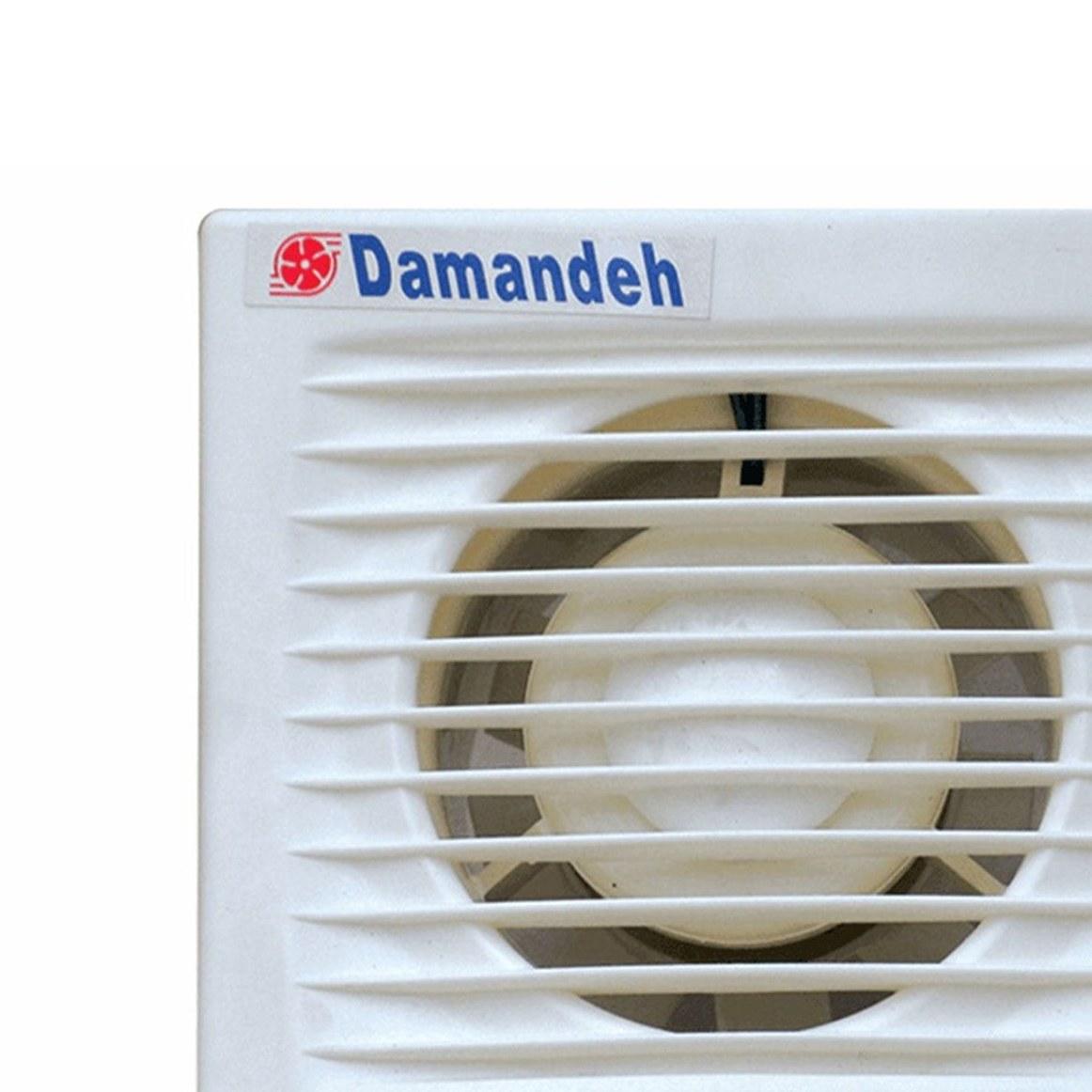 تصویر هواکش دمنده 8 سانتی توربو  مدل VPH-8S2S Damandeh VPH-8S2S Turbo Series Pipe Mount Fan