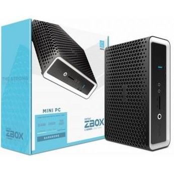 """تصویر مینی کامپیوتر Zotac ZBOX CI642 Nano, Barbone-ZBOX-CI642NANO-BE زوتاک Zotac ZBOX CI642 Nano, Barbone, Intel Core i5-10210U, Quad-Core 1.6 GHz, 2 x DDR4-2666 SO-DIMM Slot, 2.5"""" SATA III Bay, 2 GLAN, DP, HDMI, EU + UK Plug Mini PC - Black I ZBOX-CI642NANO-BE"""