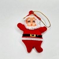 تصویر آویز درخت کریسمس بابانوئل کوچک