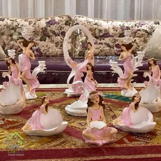 تصویر مجموعه ظروف هفت سین شیپوری ناز