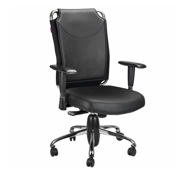 عکس صندلی کارمندی SK712 چرمی  صندلی-کارمندی-sk712-چرمی