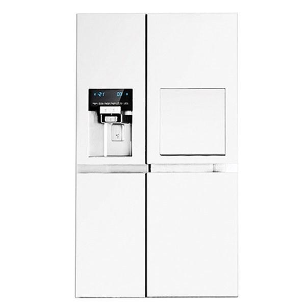 تصویر یخچال و فریزر ساید بای ساید دوو مدل D4S-3033  ا Daewoo Prime D4S-3033 Side by Side Refrigerator Daewoo Prime D4S-3033 Side by Side Refrigerator