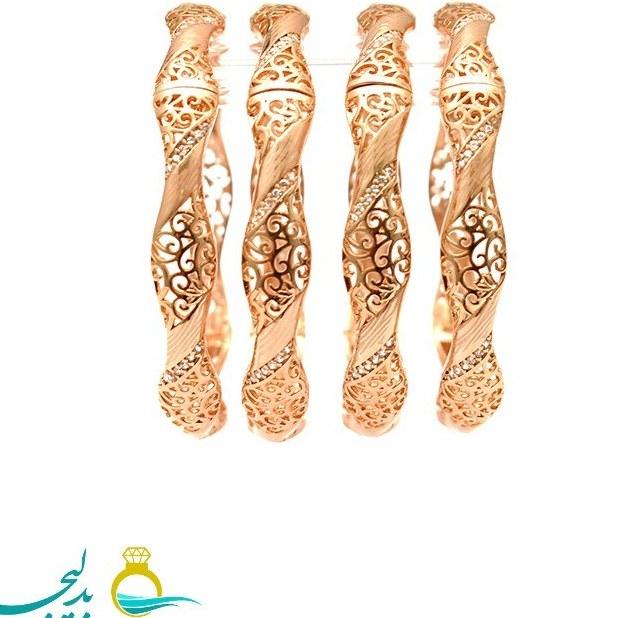 النگو طلایی زنانه- کد ۶۳۷۳